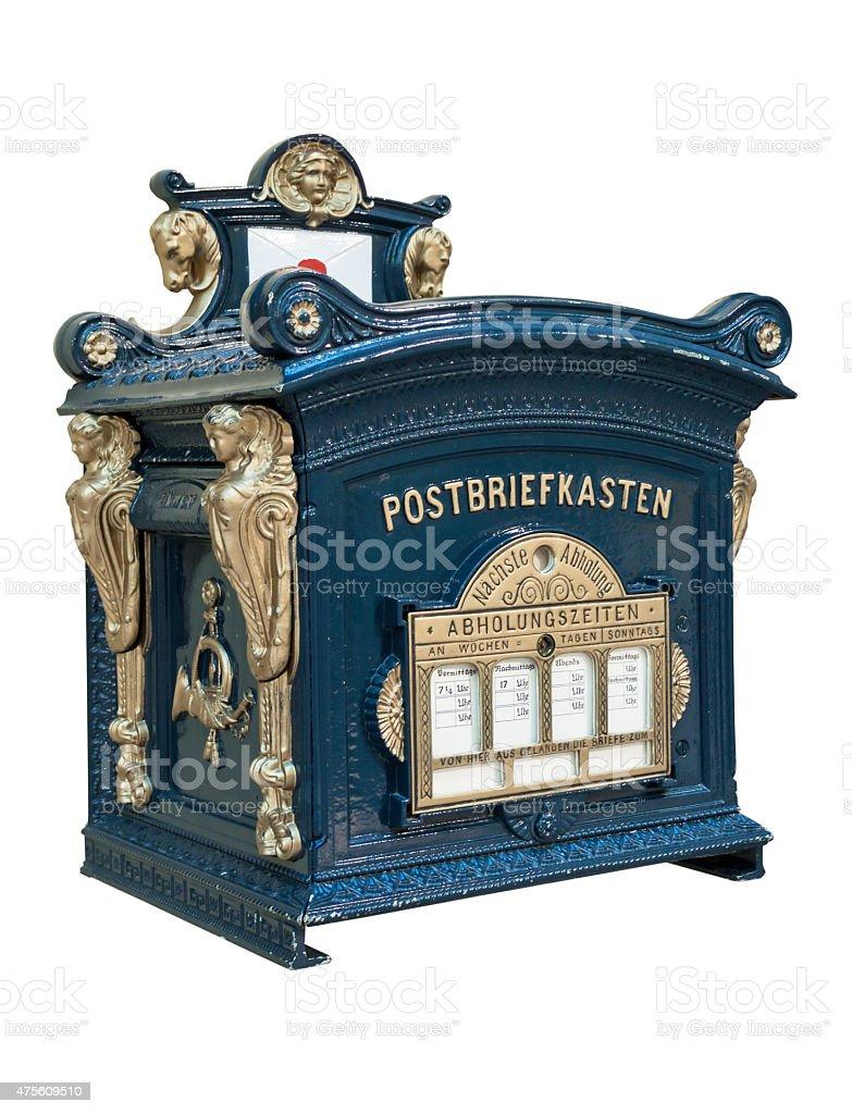Postbox stock photo