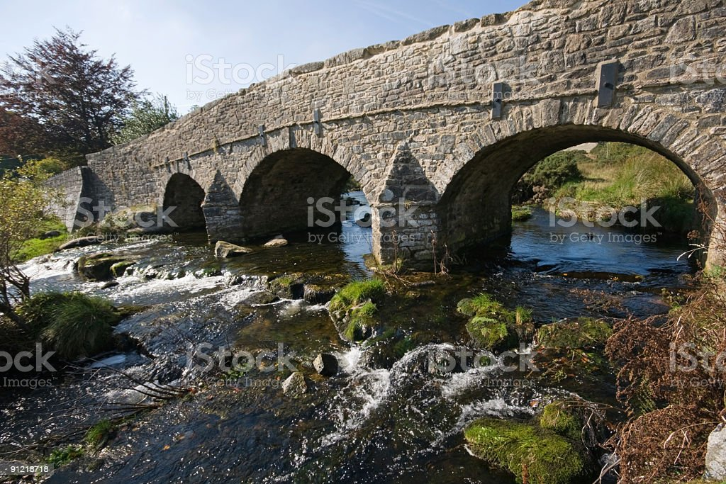 Postbridge, Dartmoor, Devon stock photo