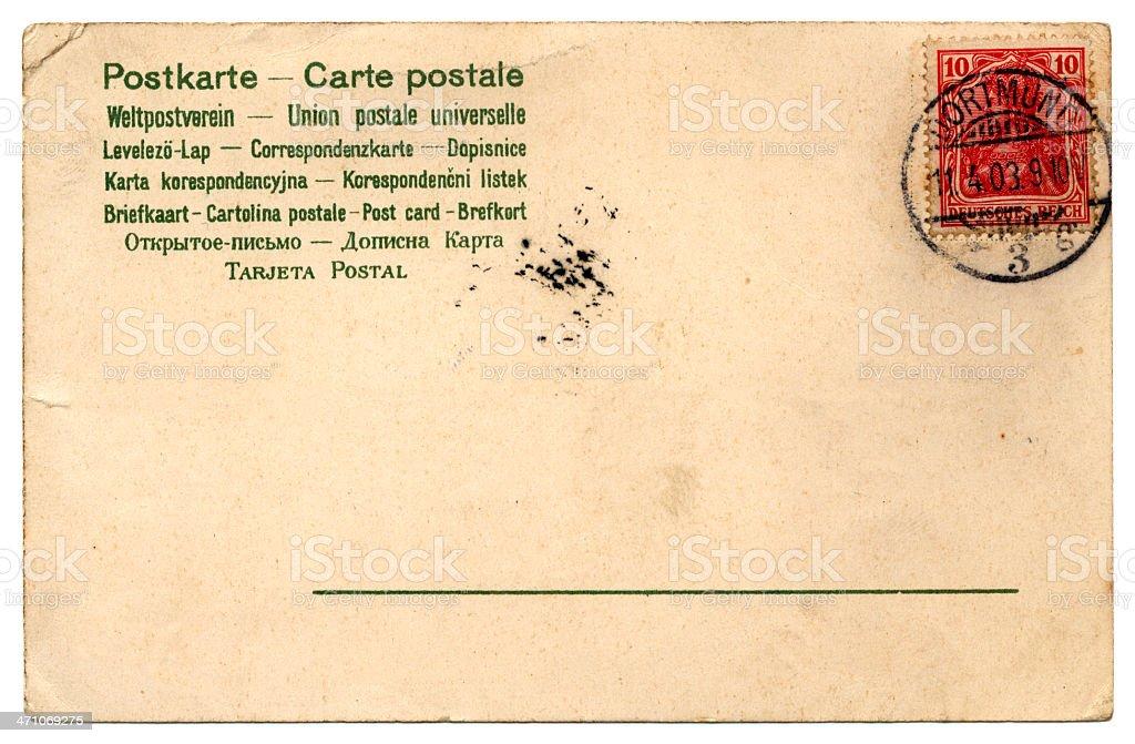 Postcard from Dortmund royalty-free stock photo