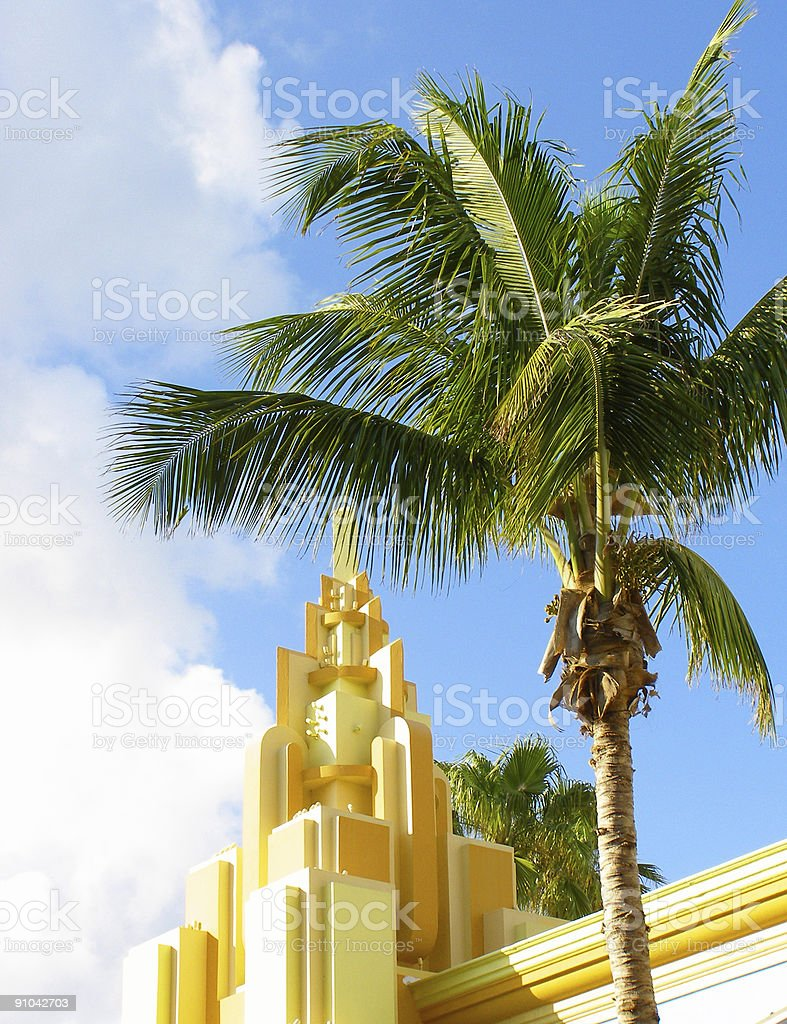 Postcard from Florida stock photo