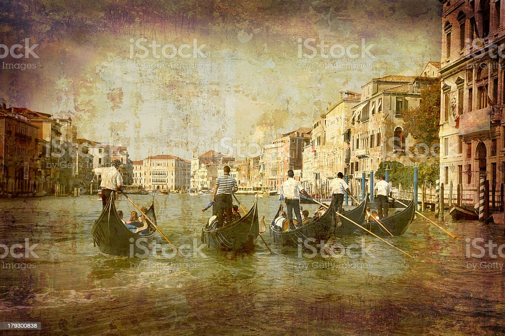Postcard from Italy (Series) royalty-free stock photo