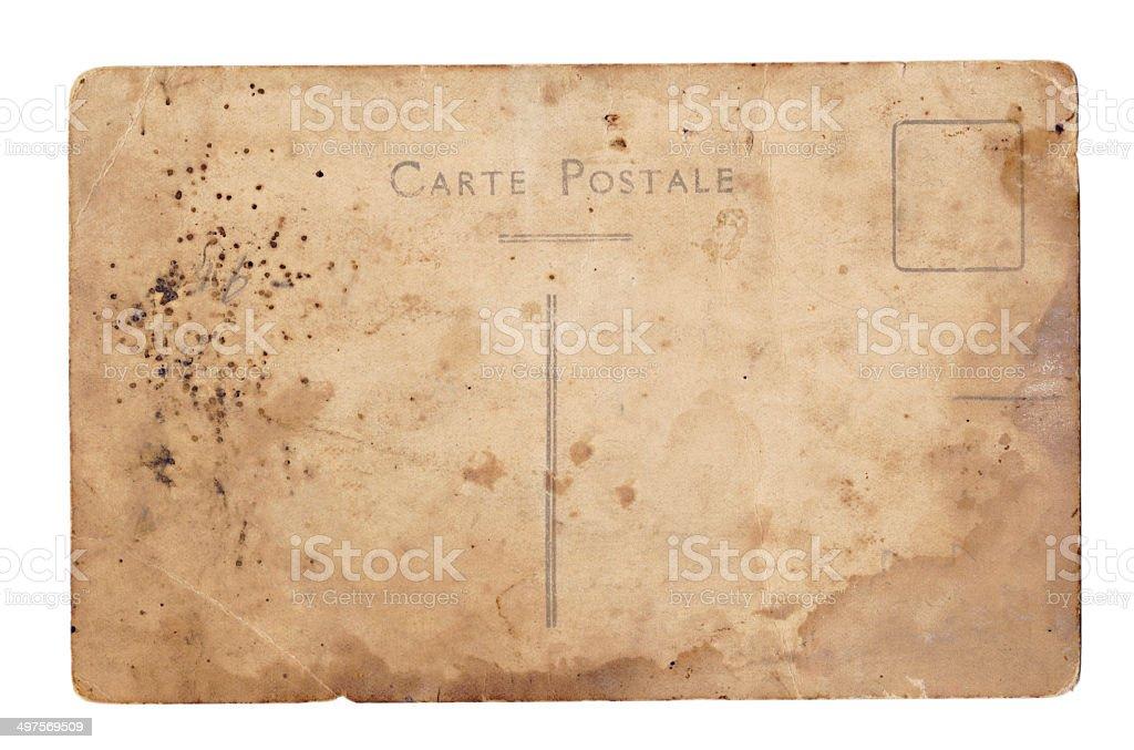 Postcard royalty-free stock photo