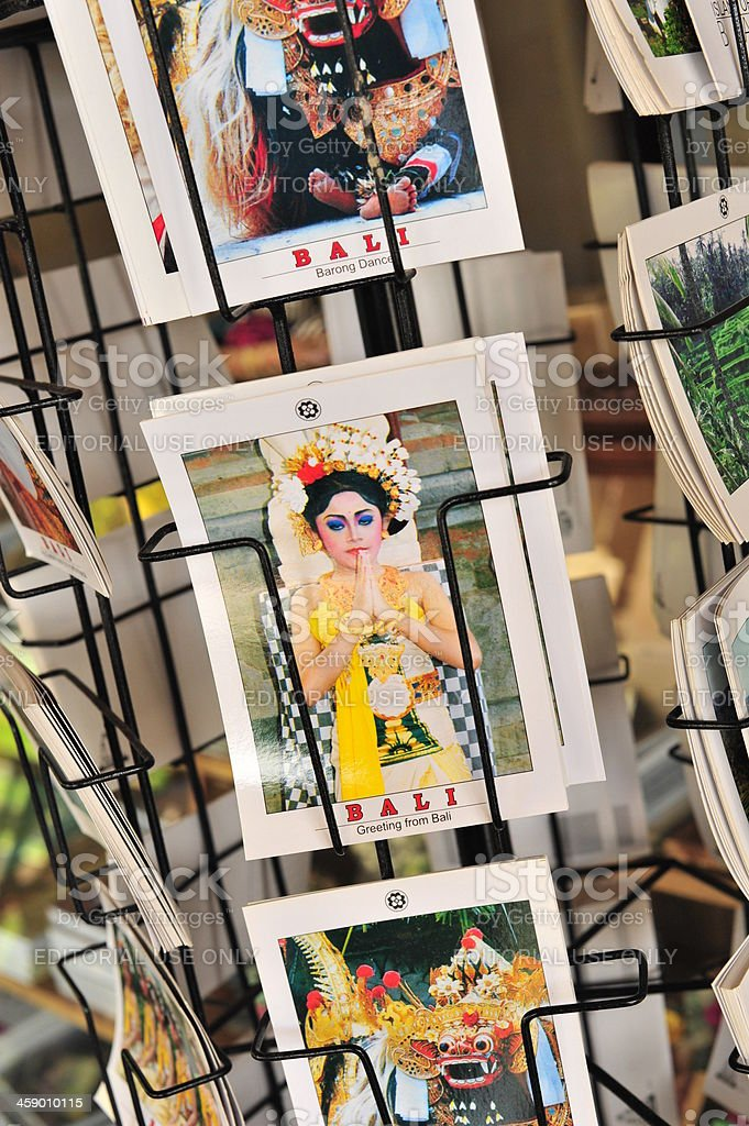 Postcards from Bali royalty-free stock photo
