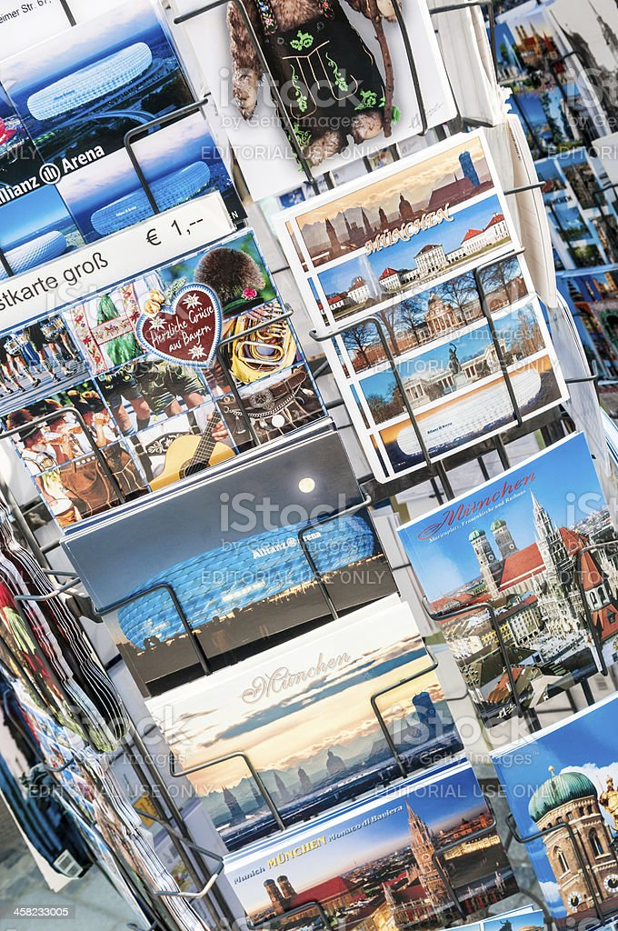 Postcards from Munich, Germany royalty-free stock photo