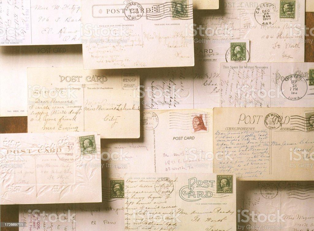 Postcards royalty-free stock photo