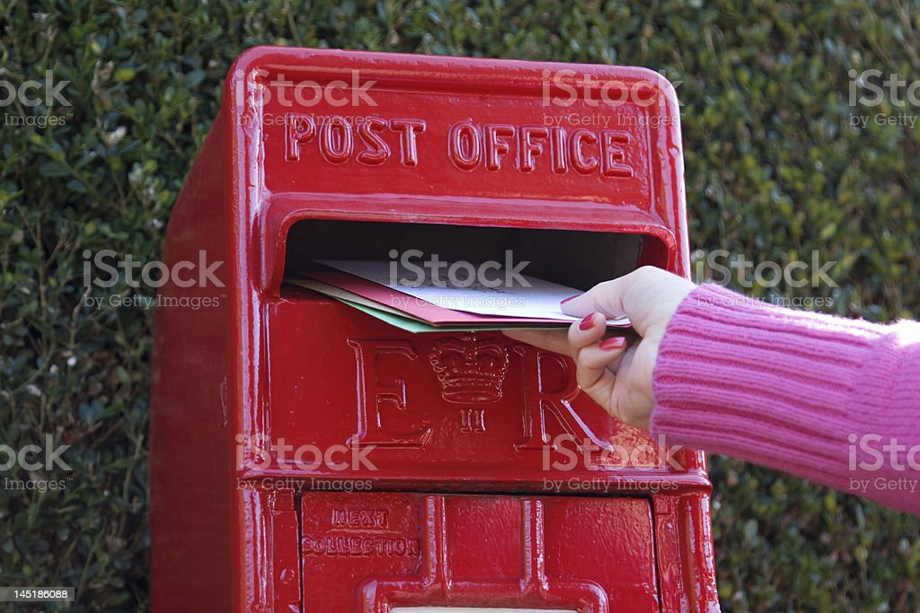 Posting Letters royalty-free stock photo