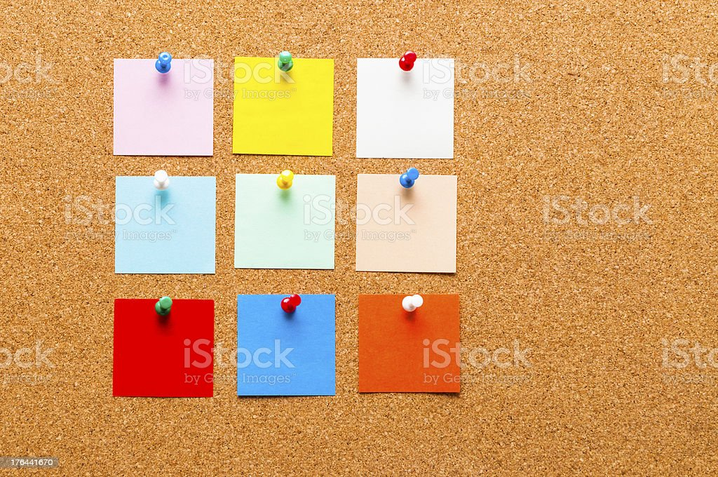 Post-it Note royalty-free stock photo