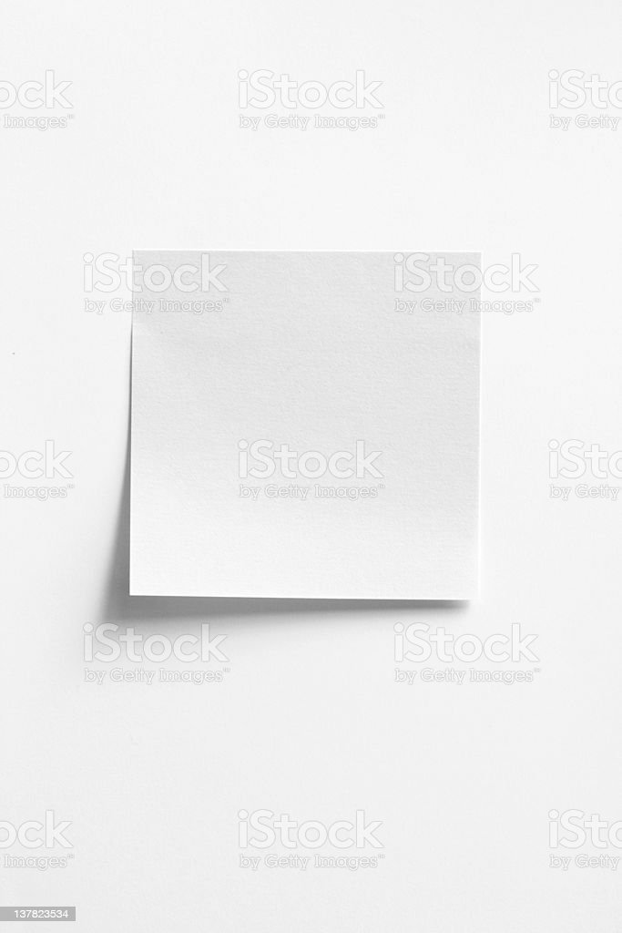 Postit stock photo