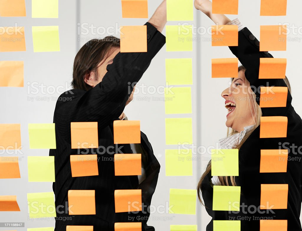 Post-it royalty-free stock photo