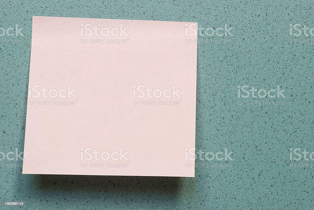 Post-it foto de stock libre de derechos