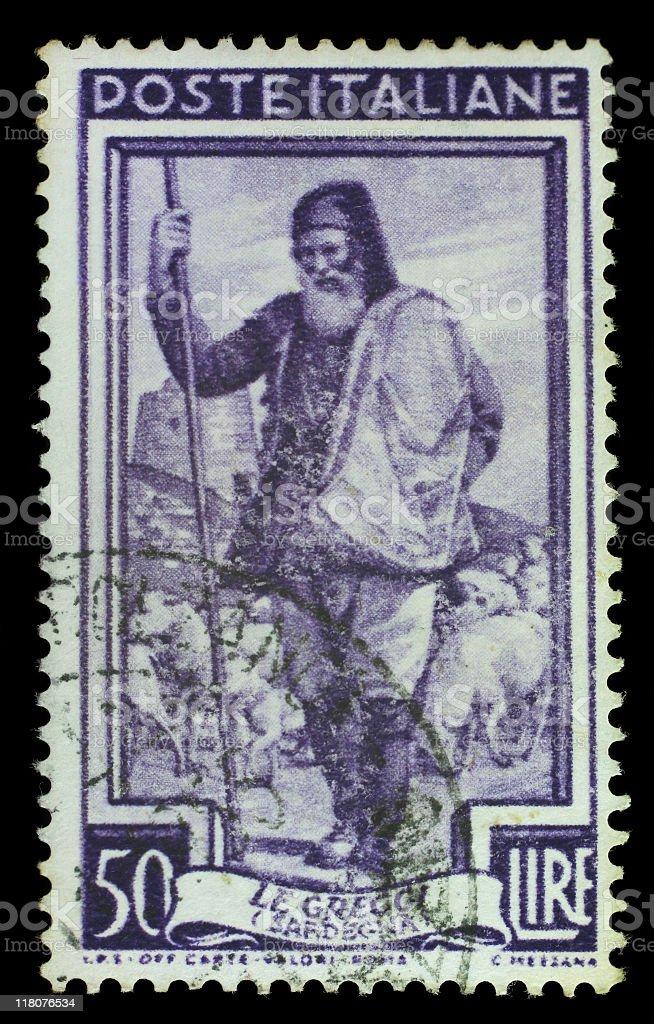 Postmark Pastor stock photo