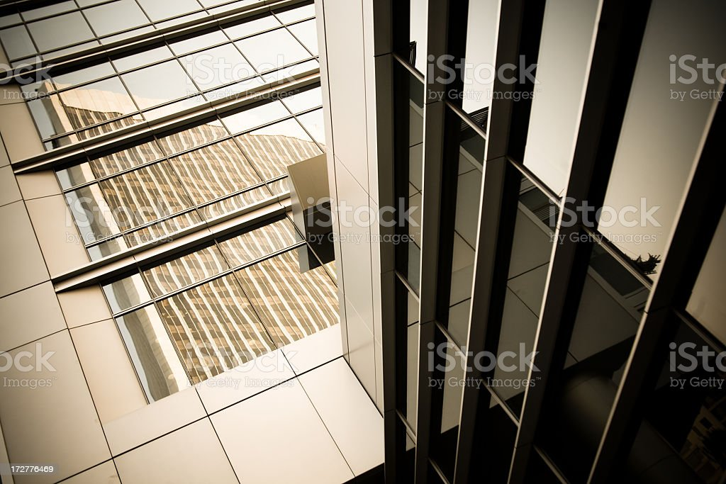 Postmodern Architectural Detail royalty-free stock photo