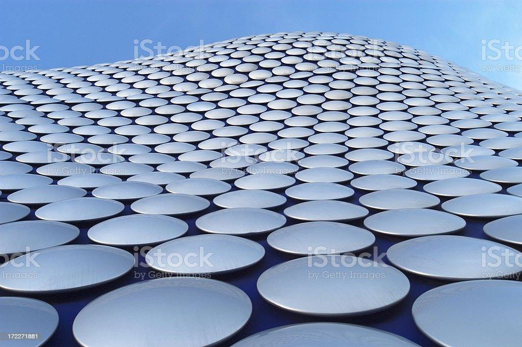 Postmodern architectural exterior - Birmingham UK royalty-free stock photo