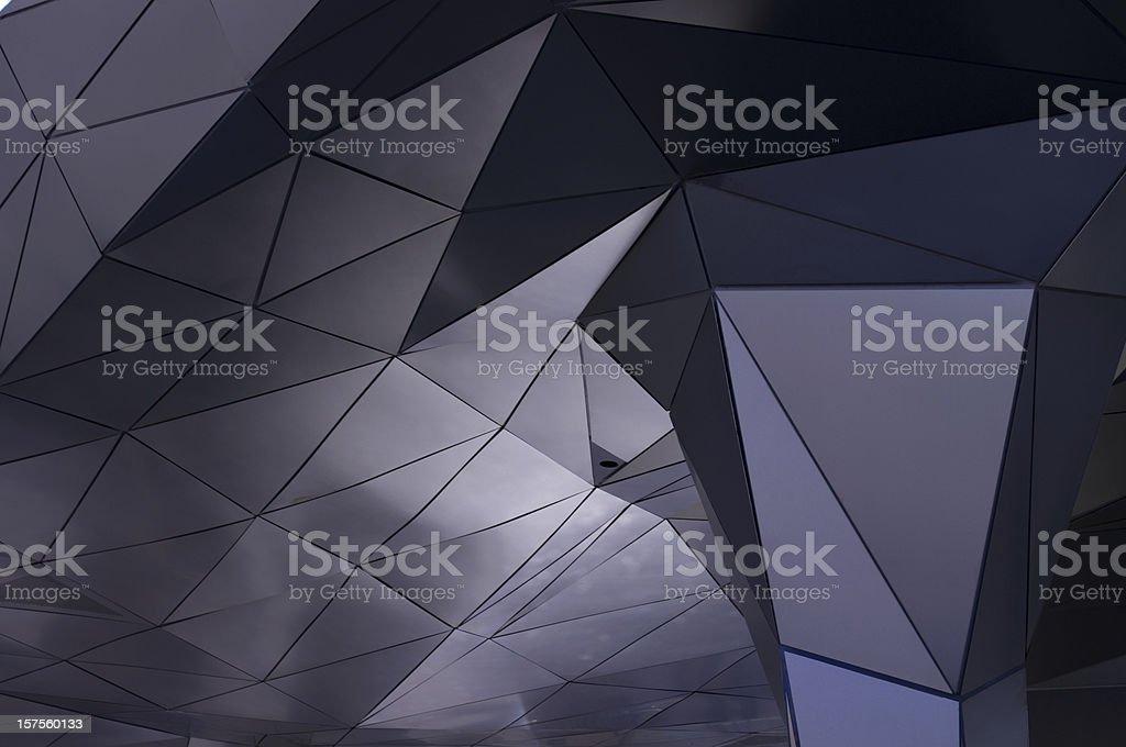 Postmodern Architecture Detail stock photo