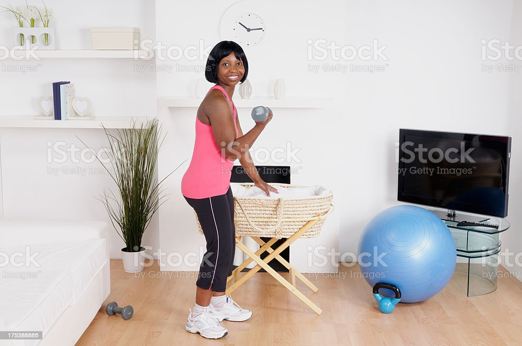Postnatal Exercise stock photo