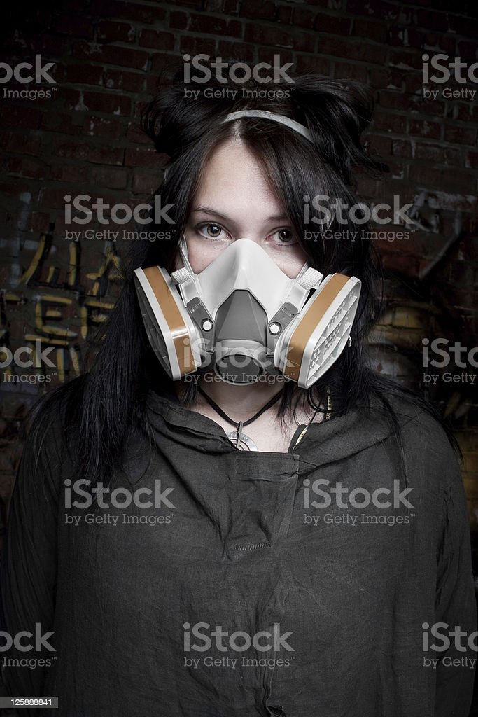 Post-nuclear beauty royalty-free stock photo