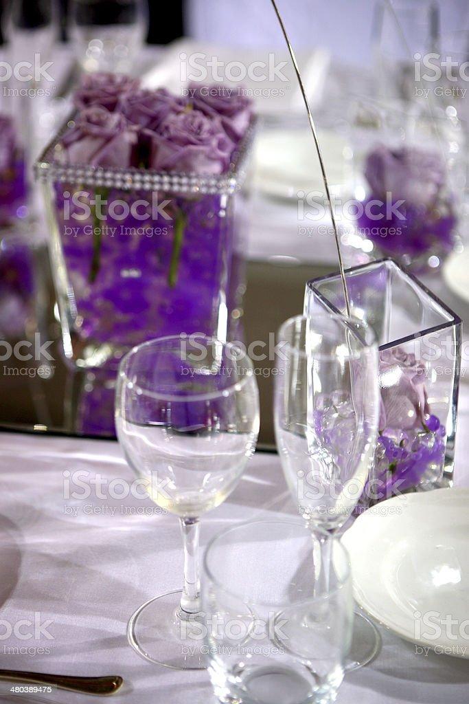 posto a tavola stock photo