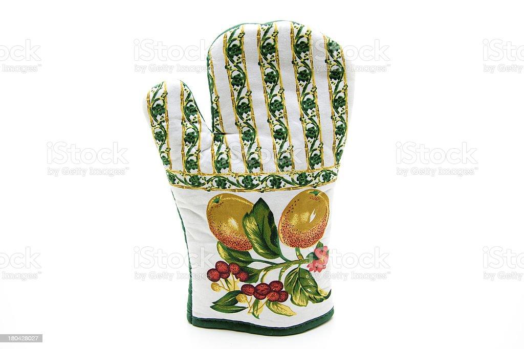 Pot gloves stock photo