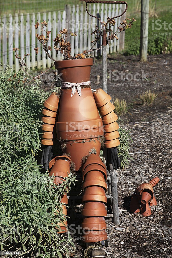 pot man  XXXL royalty-free stock photo