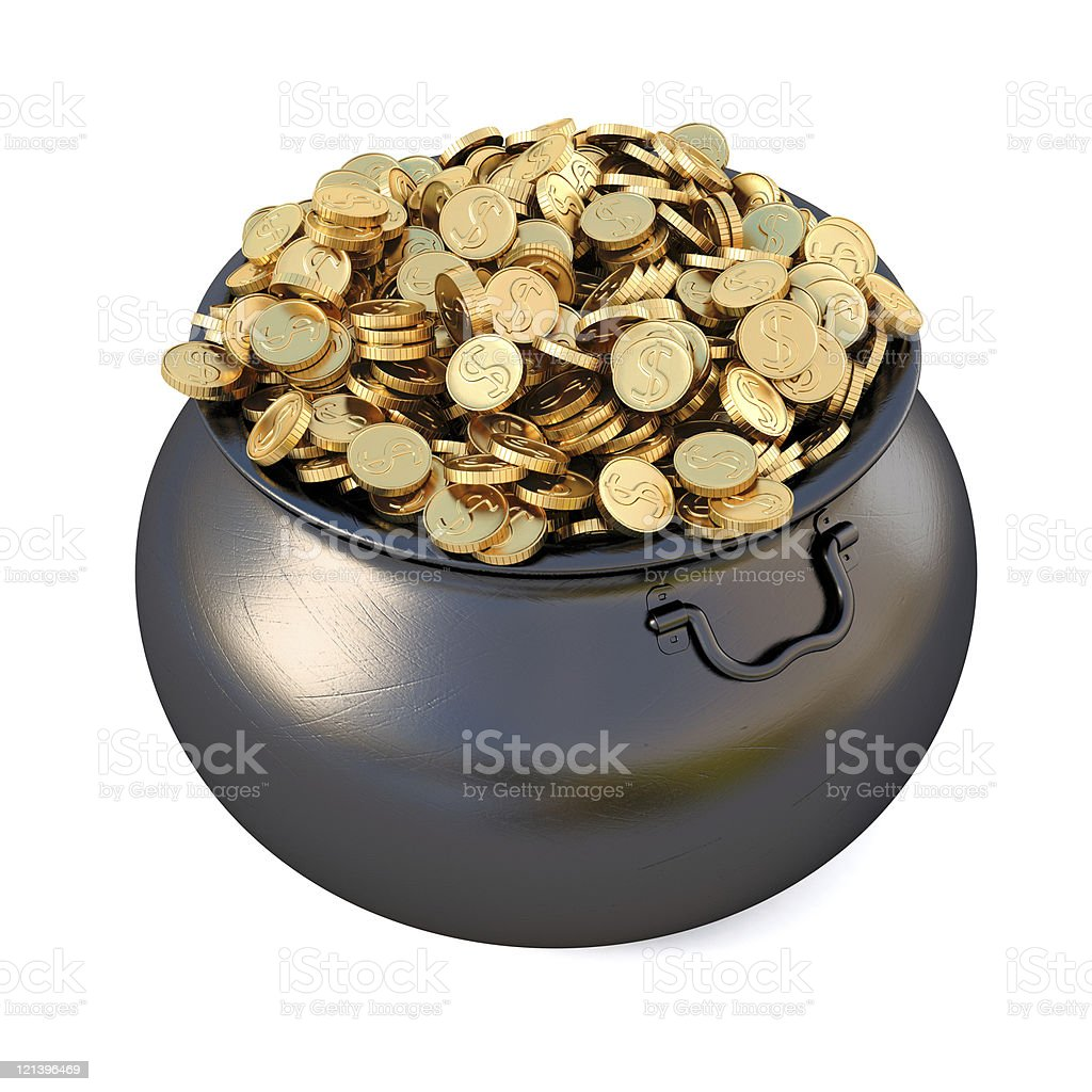 Pot royalty-free stock photo