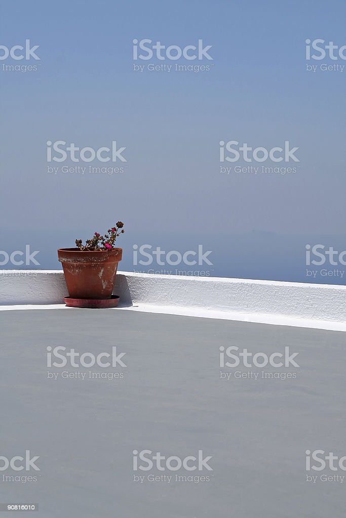 Pot royalty-free stock photo