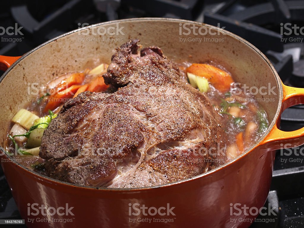 Pot Roast stock photo