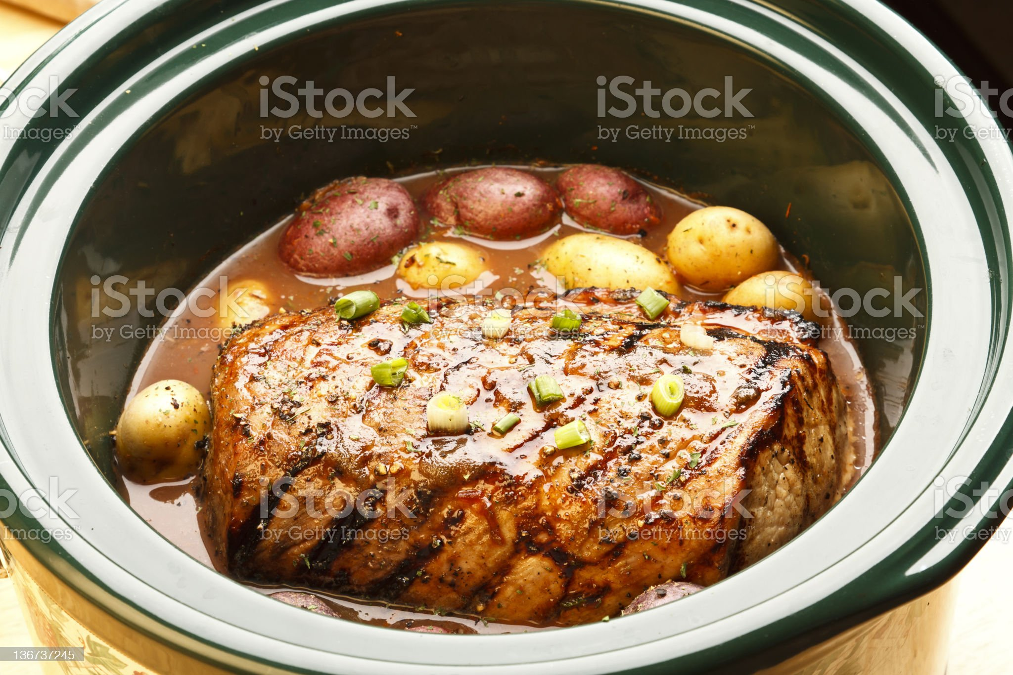 Pot Roast Series royalty-free stock photo