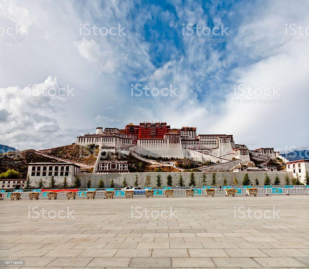 Potala Palace in Lhasa, Tibet, China stock photo