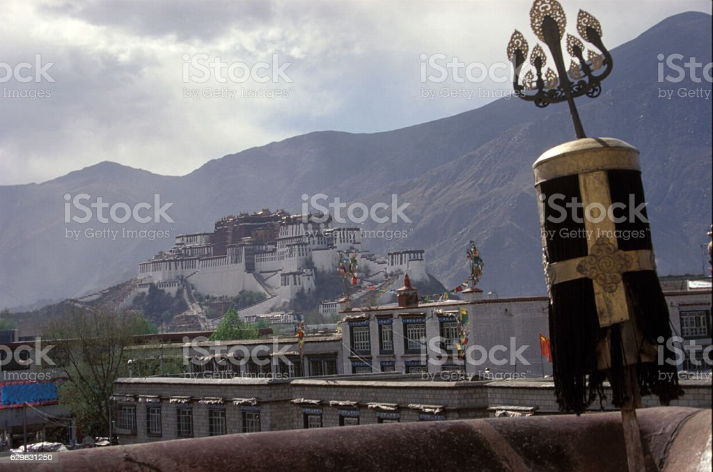 Potala Palace in Lhasa, Tibet (布达拉宫) stock photo