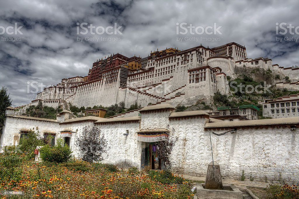 Potala Palace, Lhasa stock photo