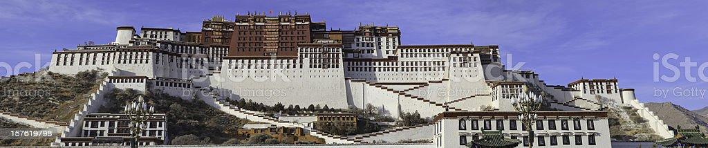 Potala Palace Lhasa Tibet stock photo