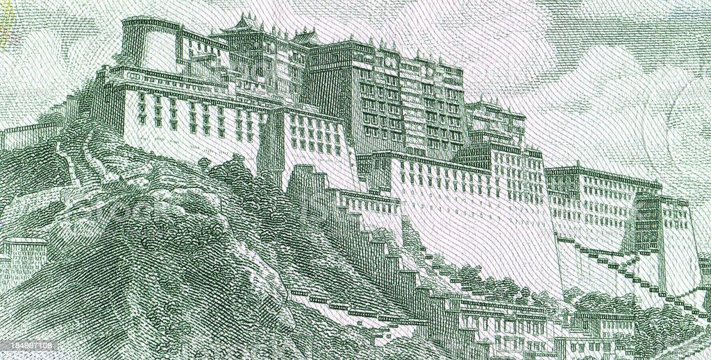 Potala Palace, Lhasa, Tibet (XXXL) royalty-free stock photo