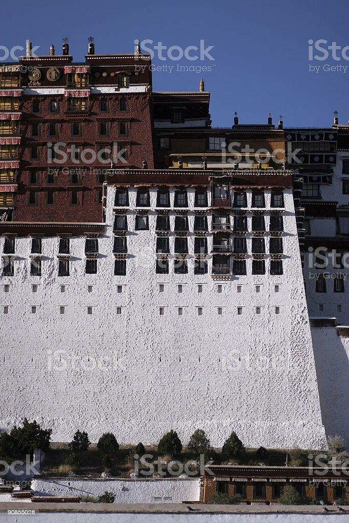 Potala Palace, Lhasa, Tibet royalty-free stock photo