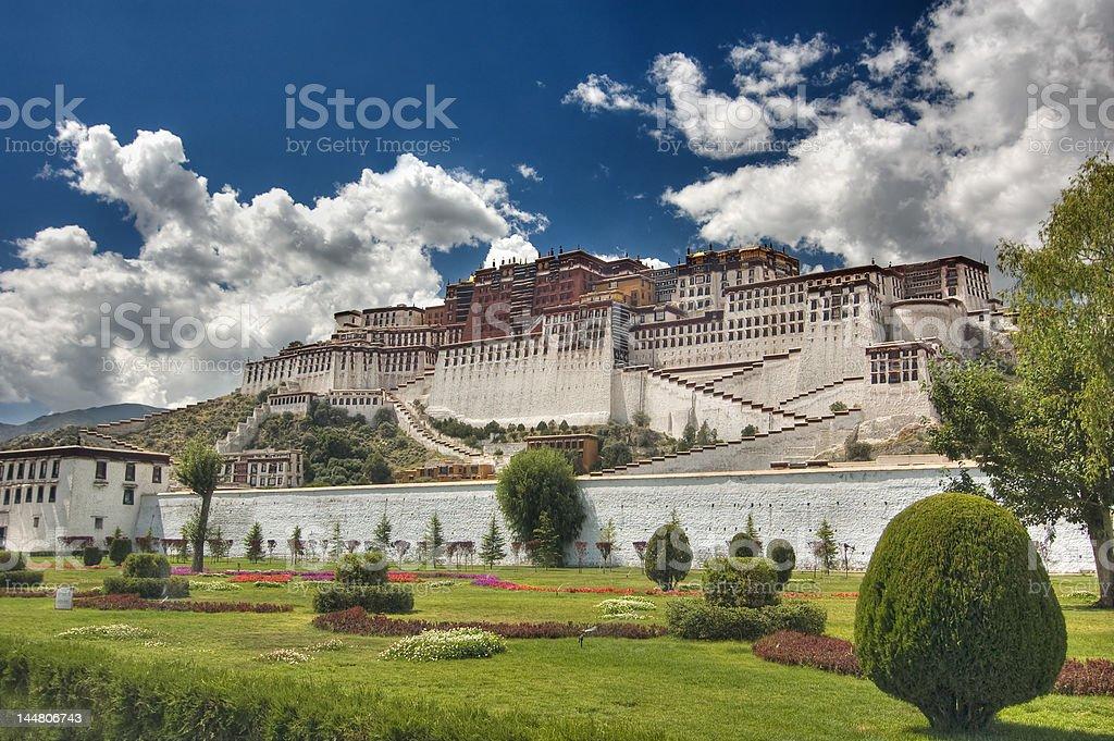 Potala Palace stock photo