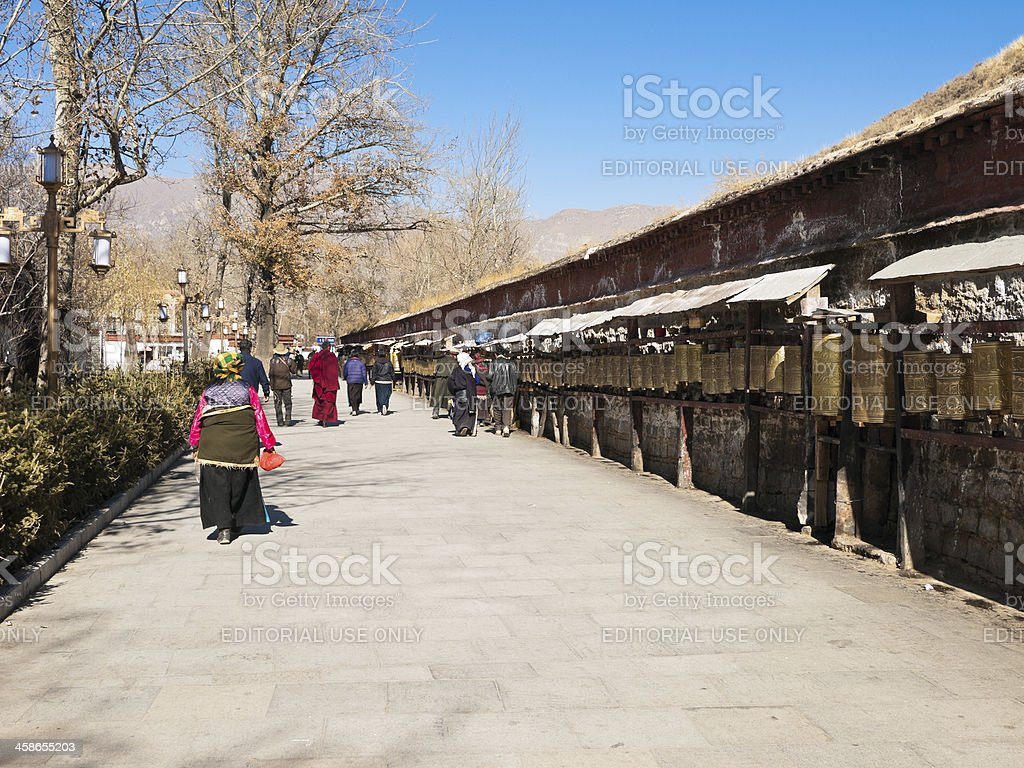 Potala Palace, Tibet, China royalty-free stock photo