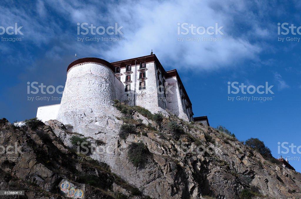 Potala Palace, Tibet, China stock photo