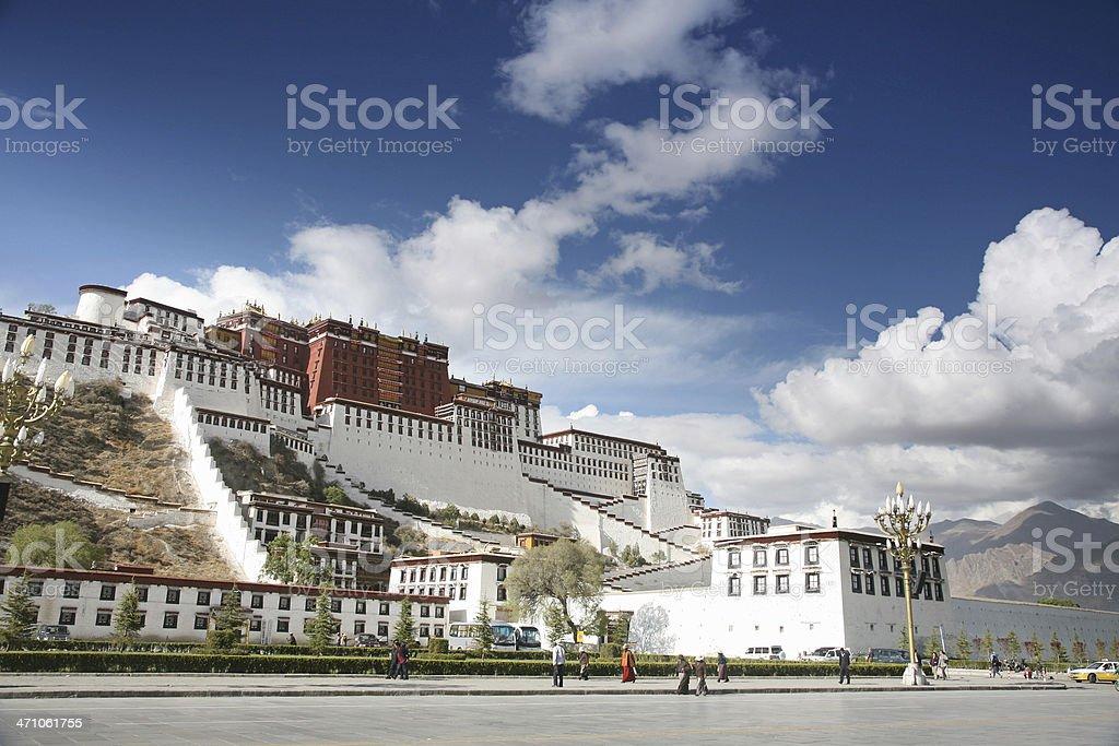 Potala Palace, Tibet stock photo