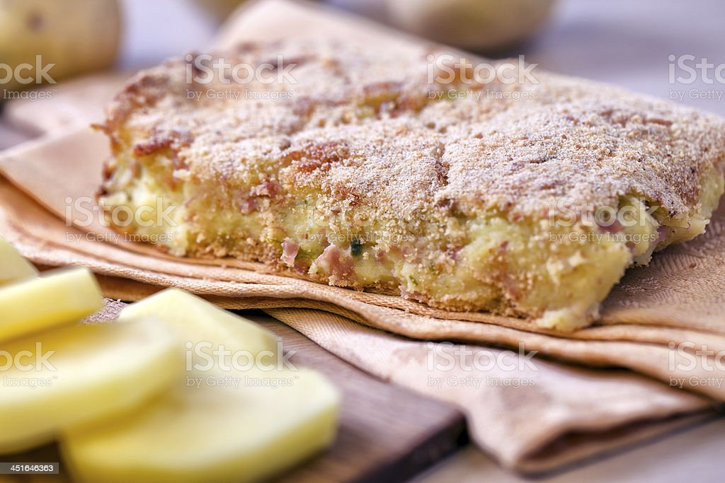 Potato Cake royalty-free stock photo