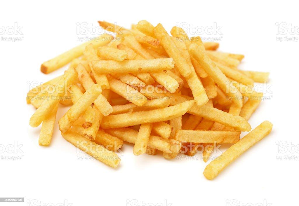Potato chip sticks stock photo