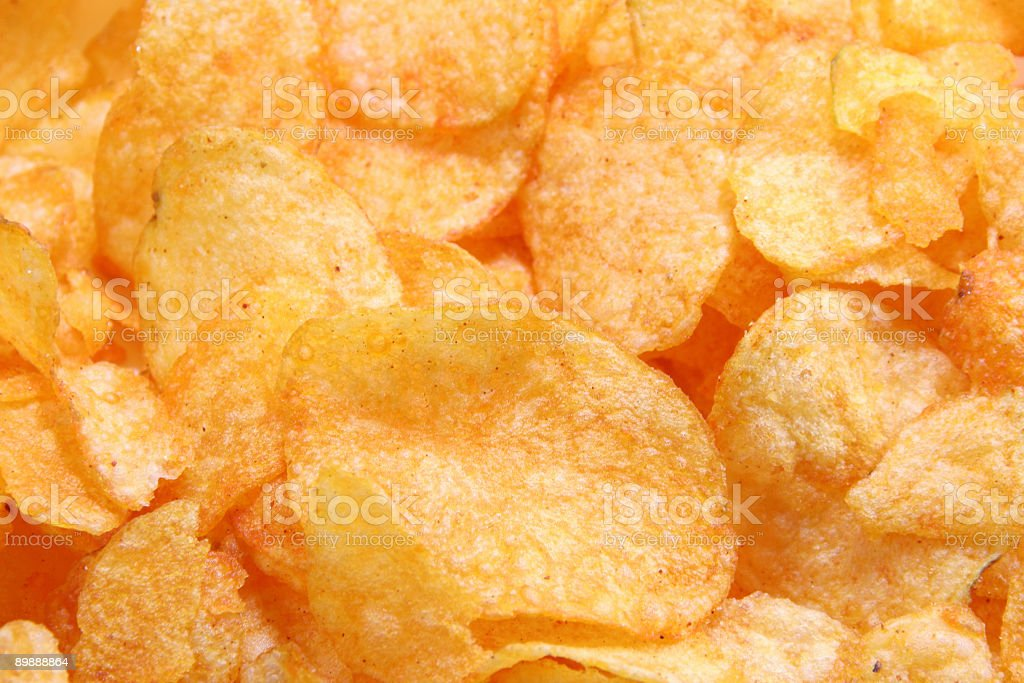 potato chips background royalty-free stock photo