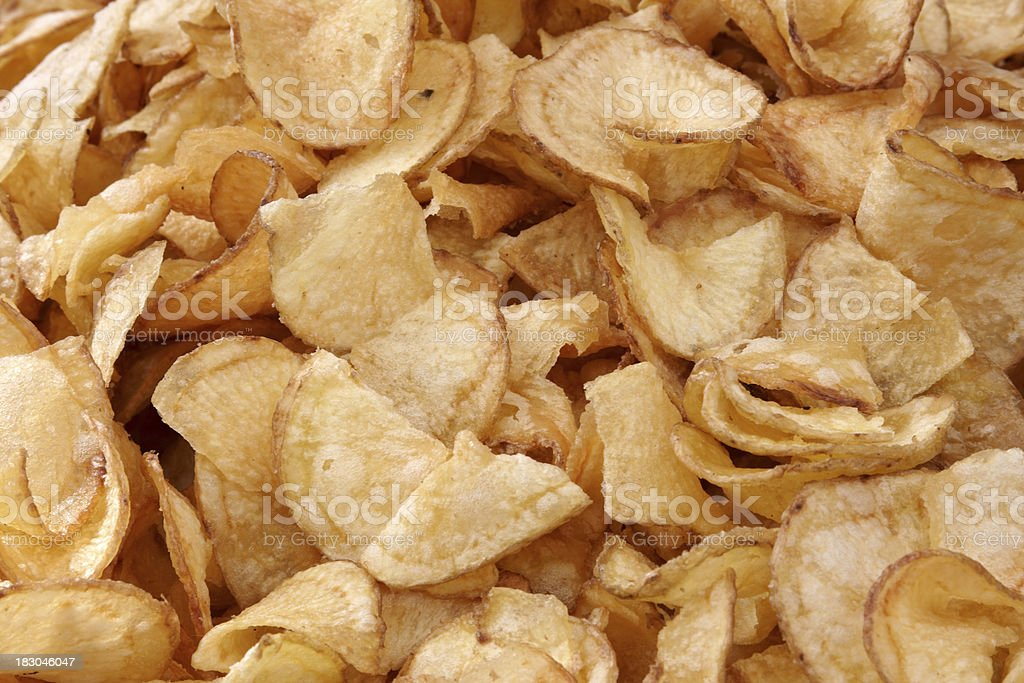 potato chips royalty-free stock photo