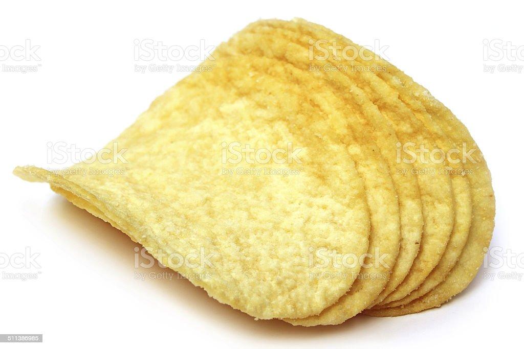 Chips de pommes de terre photo libre de droits