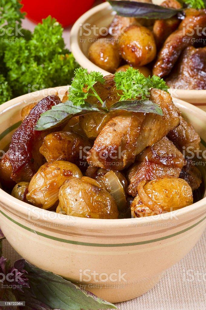 potato dish royalty-free stock photo