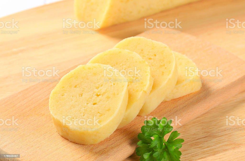 Potato dumplings royalty-free stock photo
