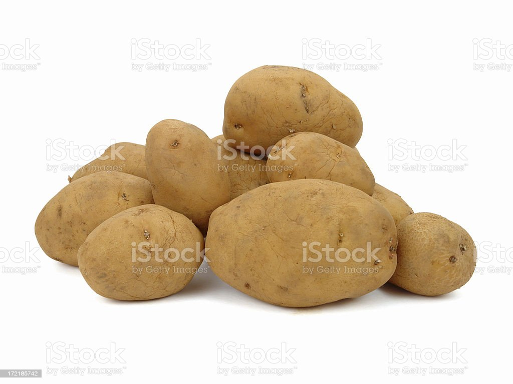 Potato for lunch stock photo