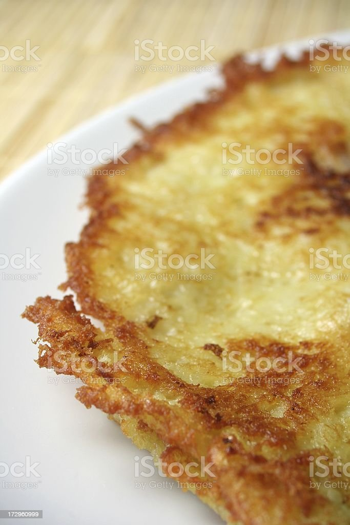 Potato Fritters stock photo