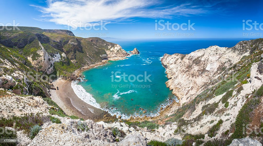 Potato Harbor, Santa Cruz Island, California royalty-free stock photo