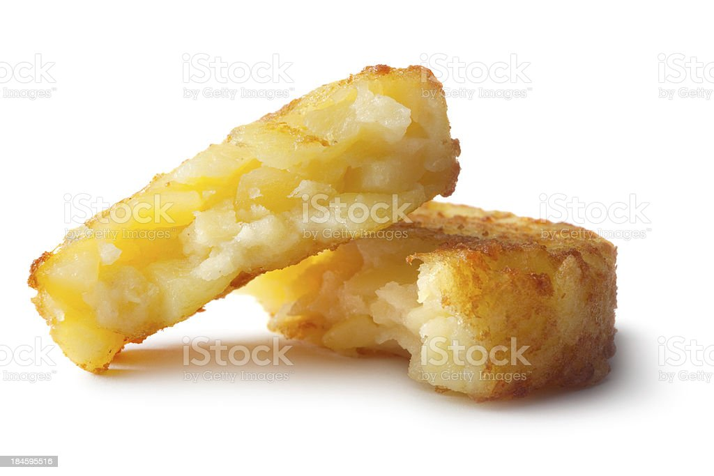 Potato: Hash Browns royalty-free stock photo