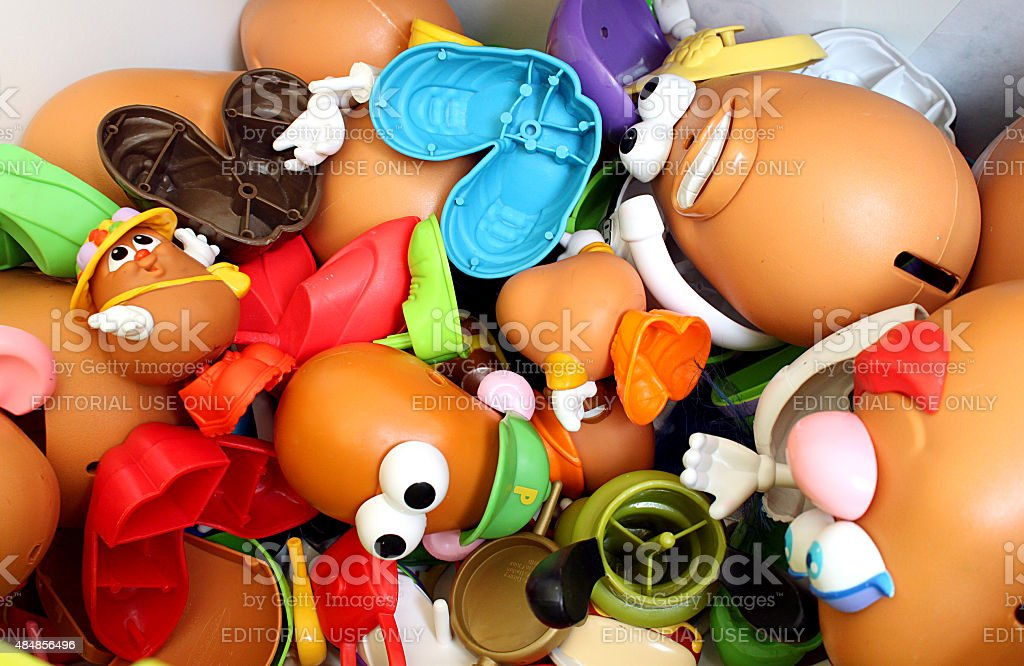 Potato Head stock photo