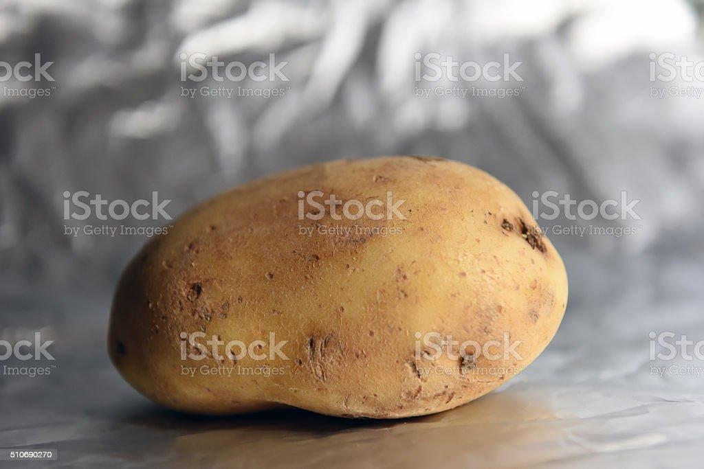 potato meteorite stock photo